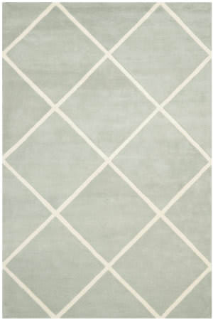 Safavieh Chatham Cht720e Grey / Ivory Area Rug