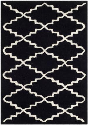 Safavieh Chatham Cht721k Black / Ivory Area Rug