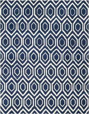 Safavieh Chatham CHT731C Dark Blue / Ivory Area Rug