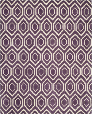 Safavieh Chatham CHT731F Purple / Ivory Area Rug