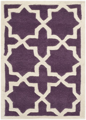 Safavieh Chatham Cht732f Purple / Ivory Area Rug