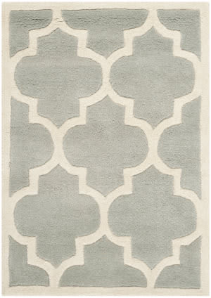 Safavieh Chatham Cht733e Grey / Ivory Area Rug