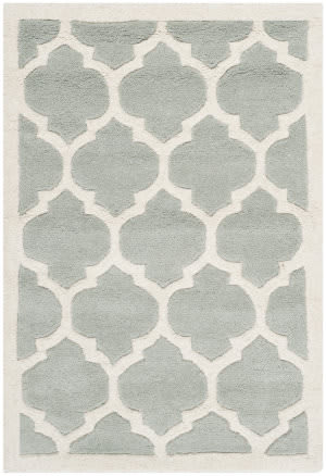 Safavieh Chatham Cht734e Grey / Ivory Area Rug