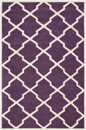 Safavieh Chatham CHT735F Purple / Ivory Area Rug