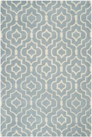 Safavieh Chatham CHT736B Blue / Ivory Area Rug