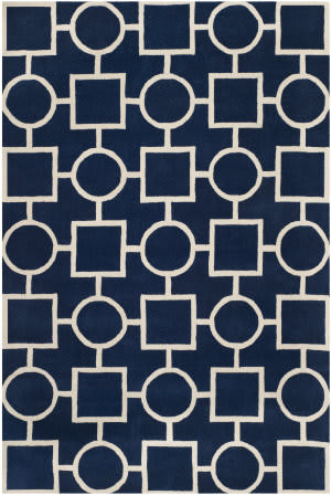 Safavieh Chatham CHT737C Dark Blue / Ivory Area Rug
