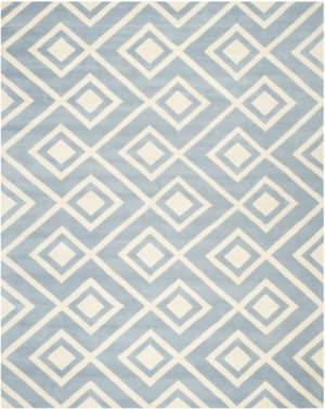 Safavieh Chatham CHT742B Blue / Ivory Area Rug