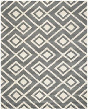 Safavieh Chatham CHT742D Dark Grey / Ivory Area Rug