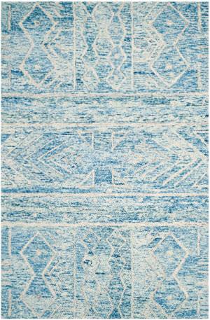 Safavieh Chatham Cht764b Blue - Ivory Area Rug