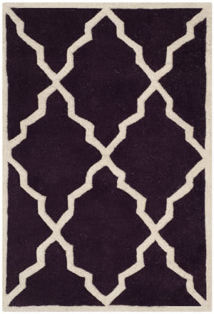 Safavieh Chatham Cht940p Dark Purple Area Rug