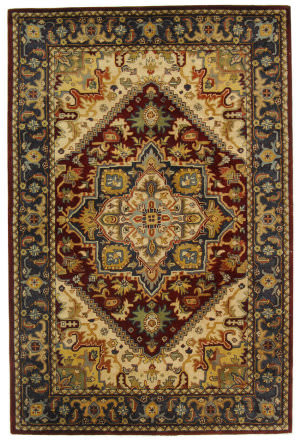 Safavieh Classic CL225A Assorted / Red Area Rug