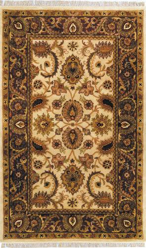Safavieh Classic CL244D Ivory / Red Area Rug