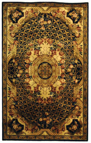 Black And Gold Rugs At Rug Studio