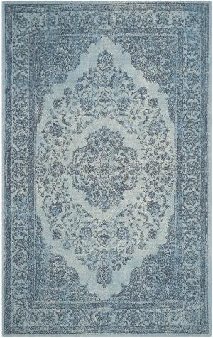 Safavieh Classic Vintage Clv121c Blue Area Rug