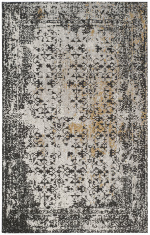 Safavieh Classic Vintage Clv223a Black - Silver Area Rug