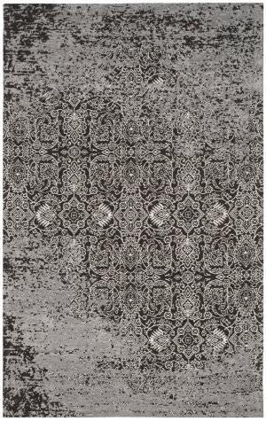 Safavieh Classic Vintage Clv224b Silver - Brown Area Rug