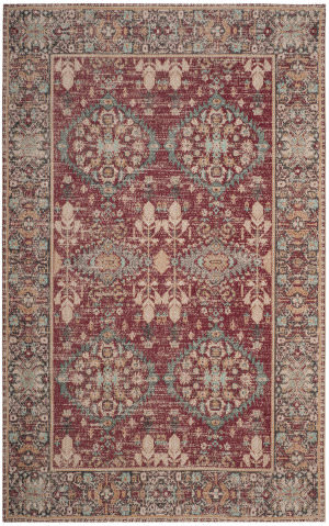 Safavieh Classic Vintage Clv302a Red - Multi Area Rug