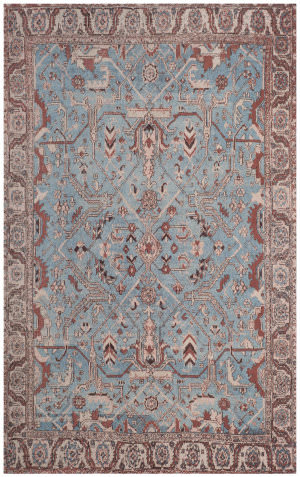 Safavieh Classic Vintage Clv303a Blue - Red Area Rug