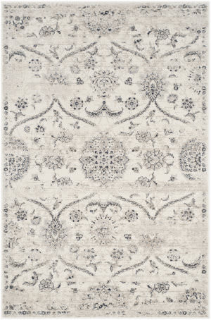 Safavieh Carnegie Cng624c Cream - Light Grey Area Rug