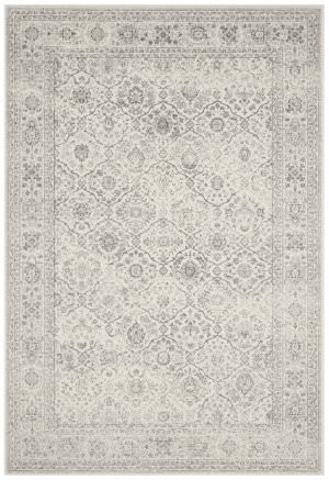Safavieh Carnegie Cng691k Cream - Dark Grey Area Rug