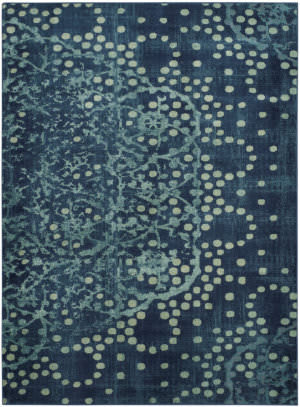 Safavieh Constellation Vintage Cnv750 Blue - Multi Area Rug