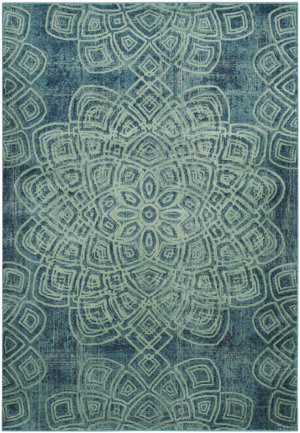 Safavieh Constellation Vintage Cnv751 Light Blue - Multi Area Rug