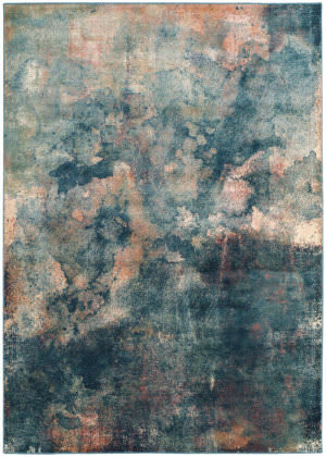 Safavieh Constellation Vintage Cnv765 Light Blue - Multi Area Rug