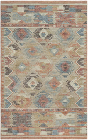 Safavieh Canyon Cny115a Red-Blue - Multi Area Rug