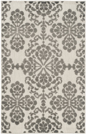 Safavieh Cottage Cot908c Cream - Grey Area Rug
