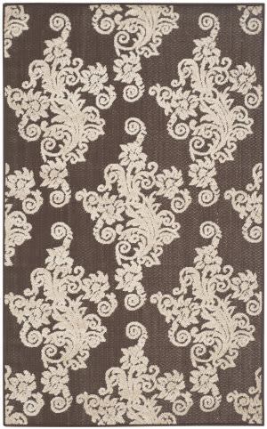 Safavieh Cottage Cot909d Brown - Beige Area Rug