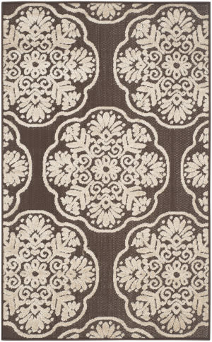 Safavieh Cottage Cot911d Brown - Beige Area Rug