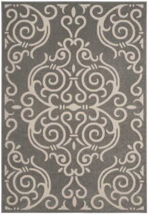 Safavieh Cottage Cot932r Grey - Cream Area Rug