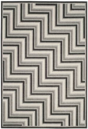Safavieh Cottage Cot935g Dark Grey - Light Grey Area Rug