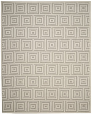 Safavieh Cottage Cot941g Grey - Cream Area Rug