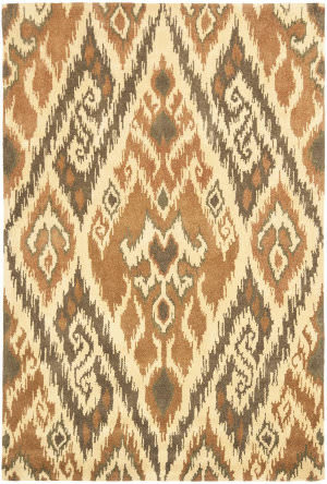 Safavieh Capri Cpr351b Multi / Brown Area Rug
