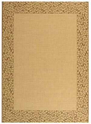 Safavieh Courtyard Cy0727-3001 Natural / Brown Area Rug