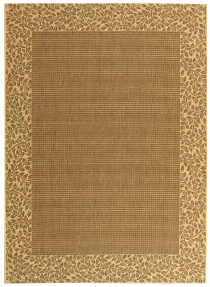 Safavieh Courtyard Cy0727-3009 Brown / Natural Area Rug
