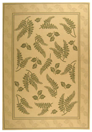 Safavieh Courtyard Cy0772-1e01 Natural / Olive Area Rug