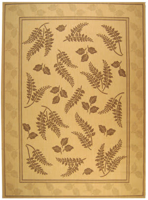 Safavieh Courtyard Cy0772-3001 Natural / Brown Area Rug