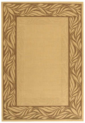 Safavieh Courtyard Cy1551-3001 Natural / Brown Area Rug