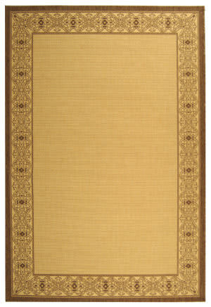 Safavieh Courtyard Cy2099-3001 Natural / Brown Area Rug