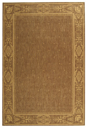 Safavieh Courtyard Cy2326-3009 Brown / Natural Area Rug