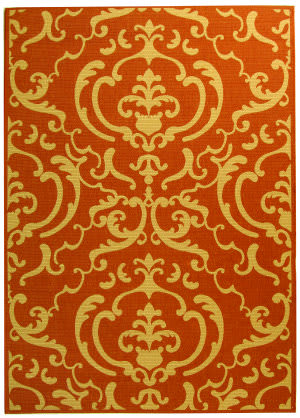 Safavieh Courtyard Cy2663-3202 Terracotta / Natural Area Rug
