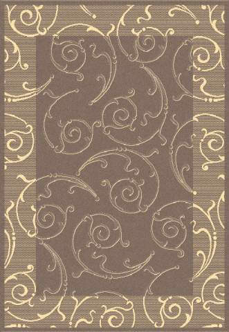 Safavieh Courtyard Cy2665-3009 Brown / Natural Area Rug