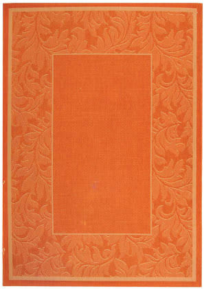 Safavieh Courtyard Cy2666-3202 Terracotta / Natural Area Rug