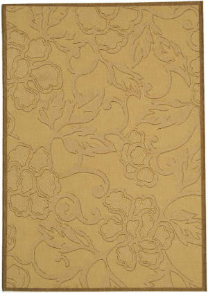 Safavieh Courtyard Cy2726-3001 Natural / Brown Area Rug