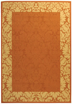 Safavieh Courtyard Cy2727-3202 Terracotta / Natural Area Rug