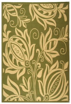 Safavieh Courtyard Cy2961-1e06 Olive / Natural Area Rug