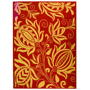 Safavieh Courtyard Cy2961-3707 Red / Natural Area Rug