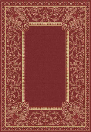 Safavieh Courtyard Cy2965-3707 Red / Natural Area Rug
